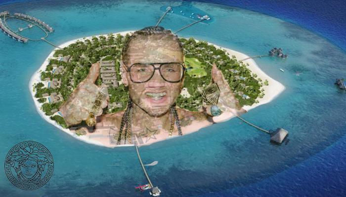 versace islands
