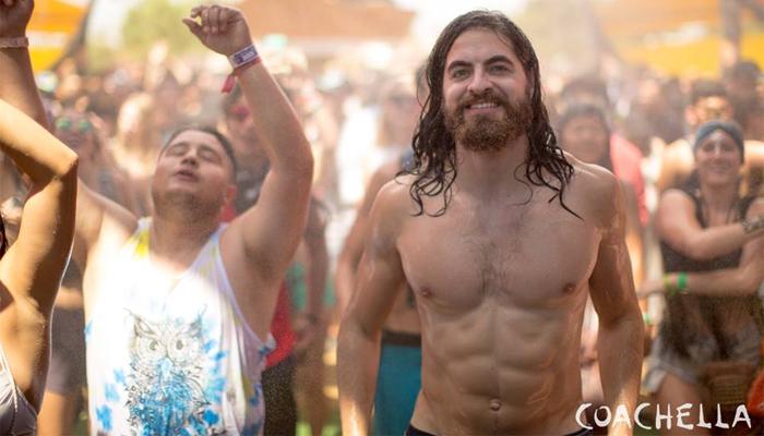 Coachella Jesus Abs